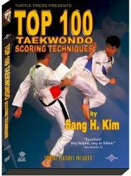 Turtle Press Top 100 Taekwondo Scoring Techniques